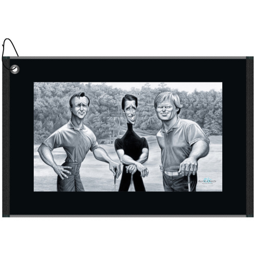 Big 3 Golf Greats Golf Towel