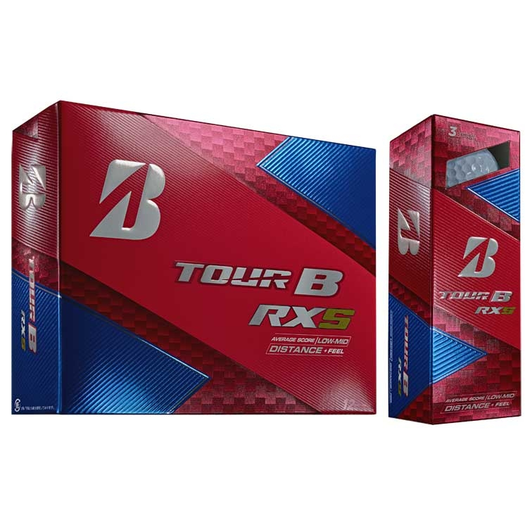 Bridgestone 2018 Tour B RXS Golf Ball