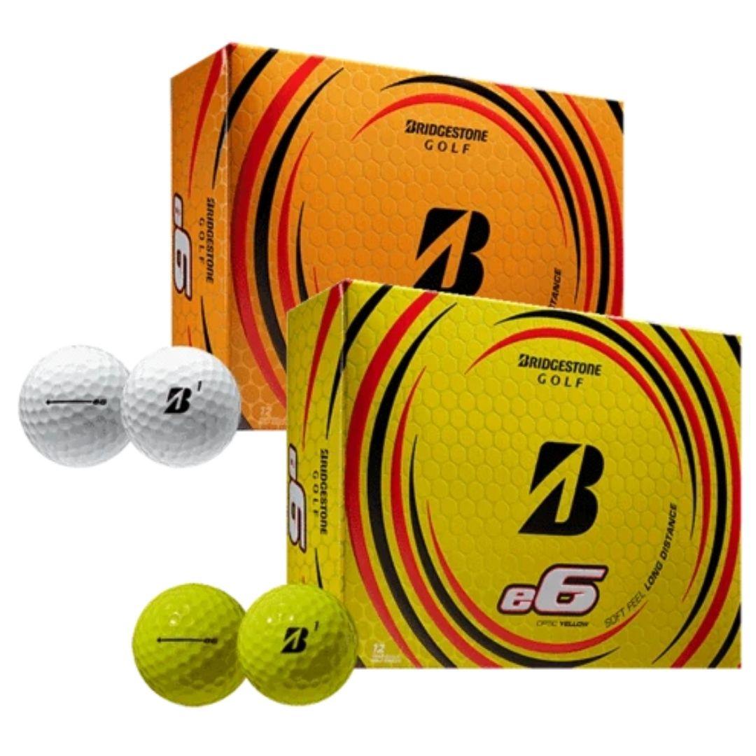 Bridgestone 2021 E6 Golf Balls