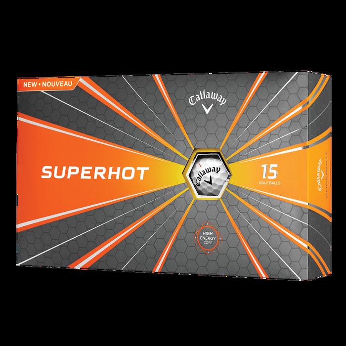 Callaway 2018 Superhot Golf Ball 15 Pack
