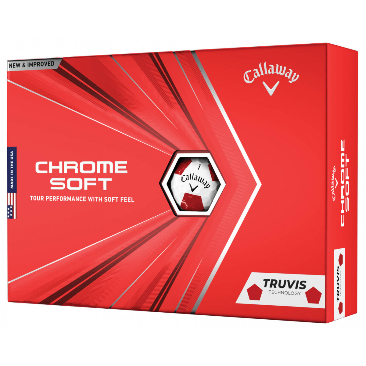 Callaway 2020 Chrome Soft Truvis Golf Balls