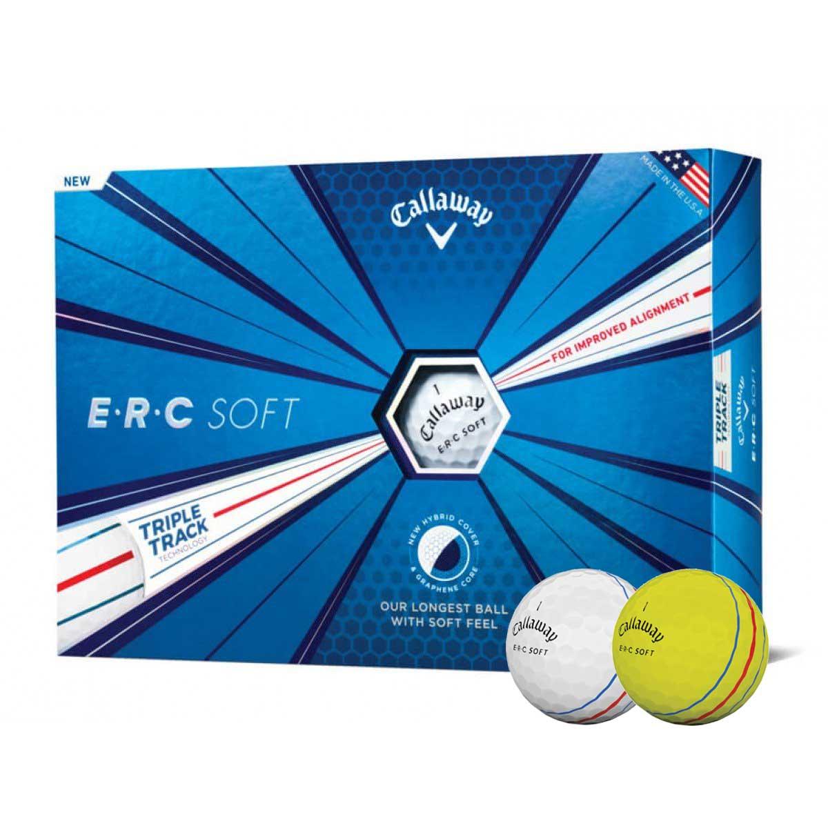 Callaway 2021 ERC Soft Triple Track Golf Balls