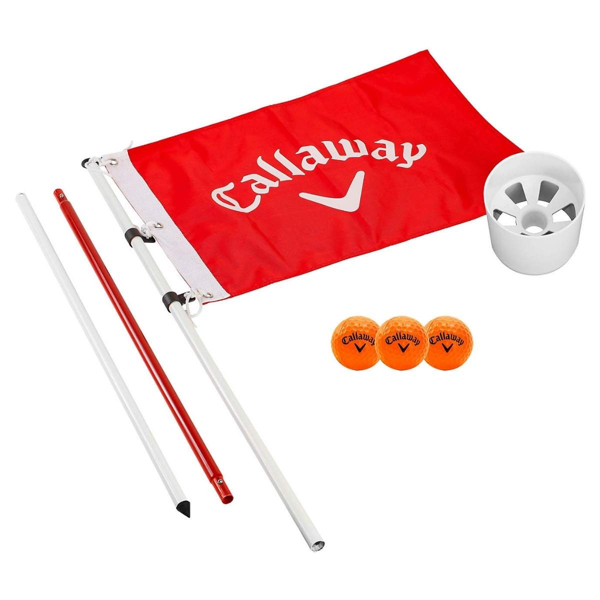 Callaway Golf Closest to the Pin Game Flagpole and Cup Set