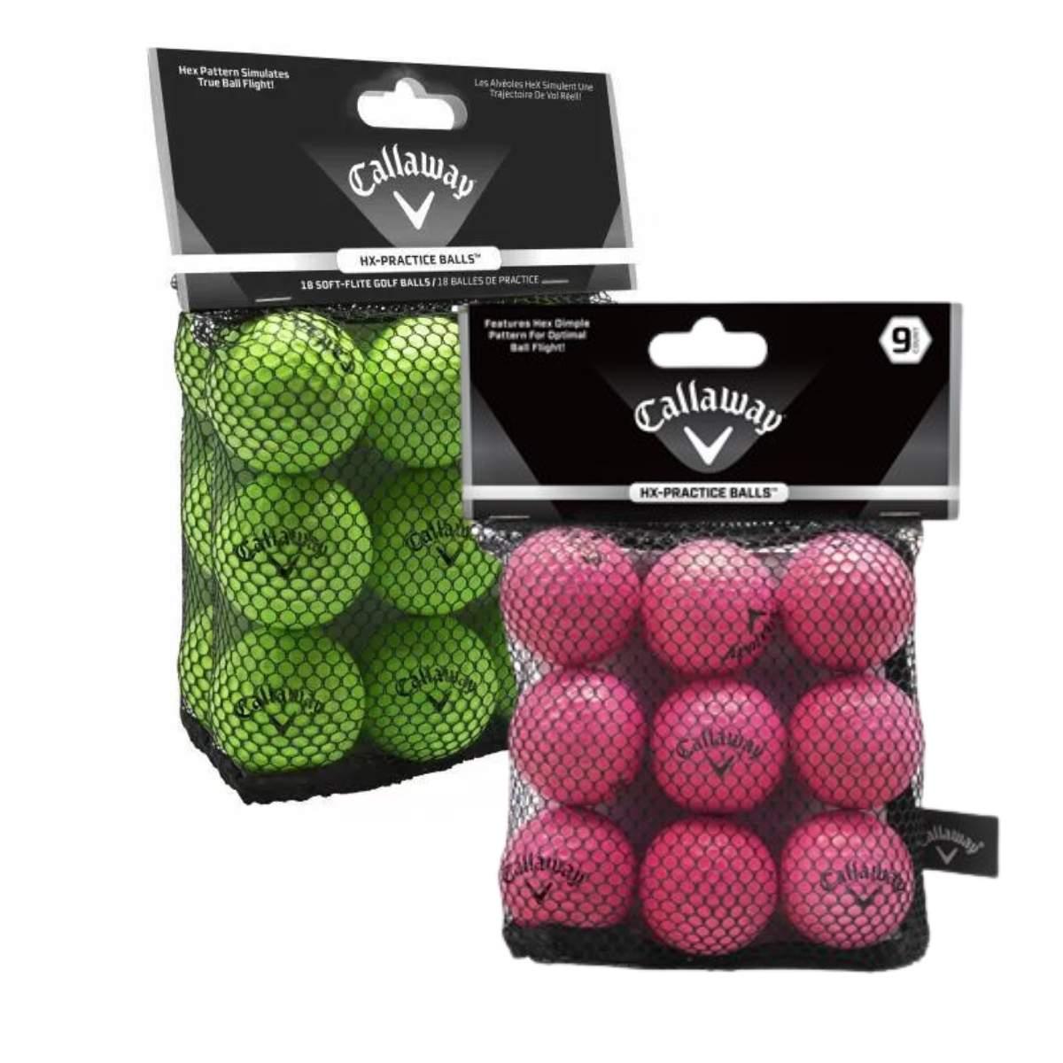 Callaway HX Soft Flite Practice Golf Balls