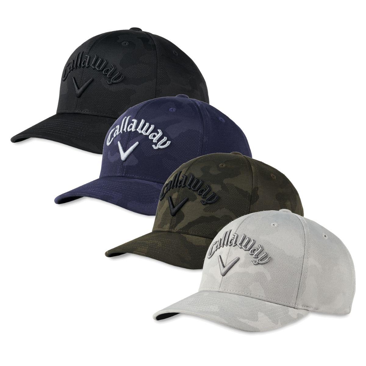 Callaway Men's 2021 Camo Flexfit Snapback Hat