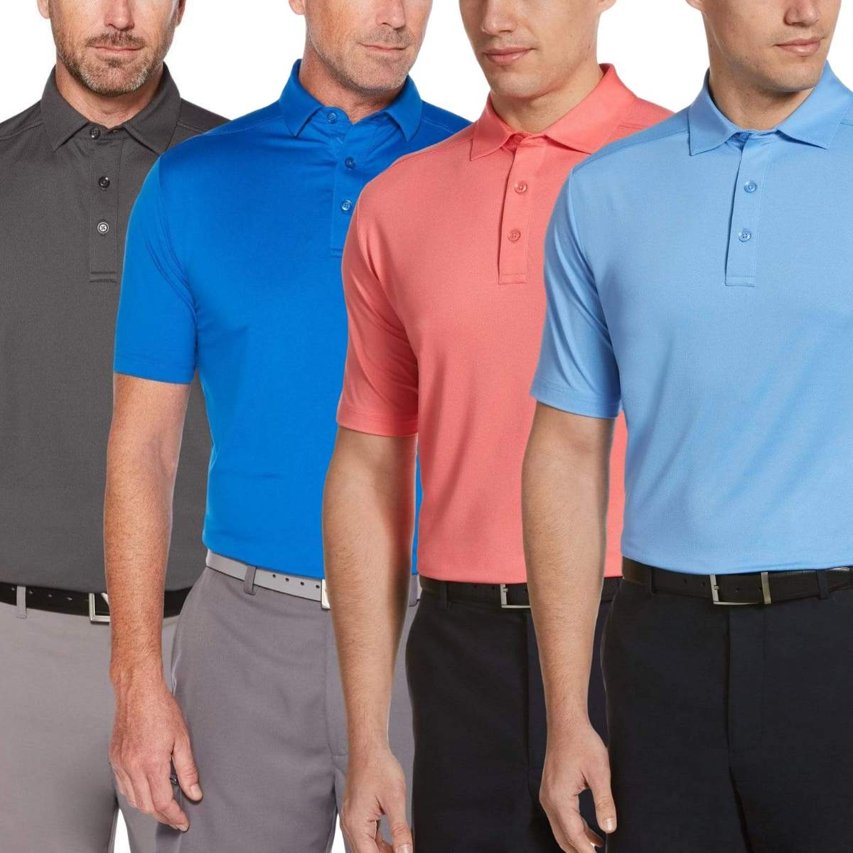 Callaway Men's Cooling Micro Hex Polo