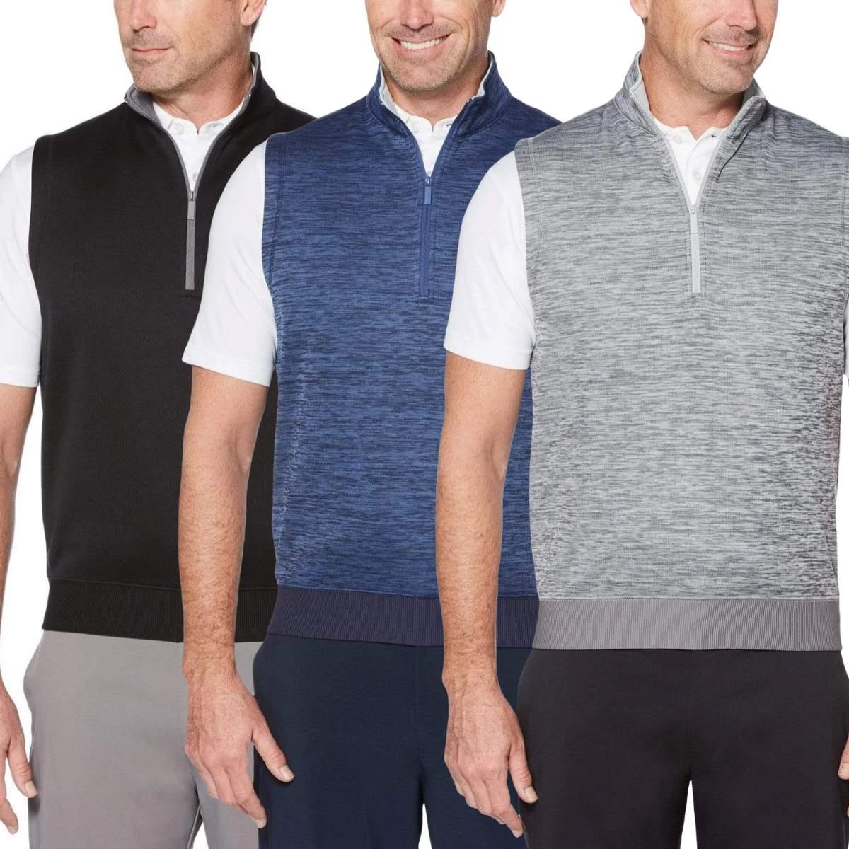 Callaway Men's Dual Action 1/4 Zip Vest