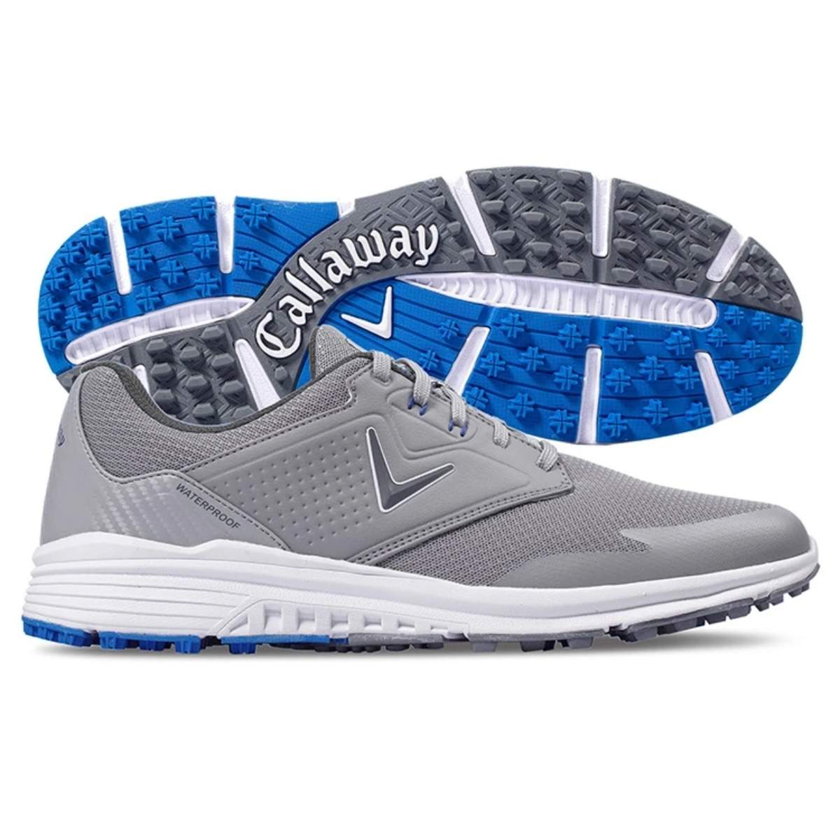 Callaway Men's Solana SL Golf Shoe - Grey/Blue