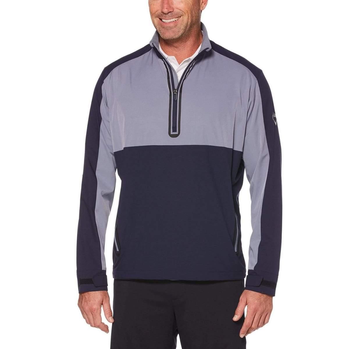 Callaway Men's Swing Tech 1/4 Zip Color Block Golf Windshirt