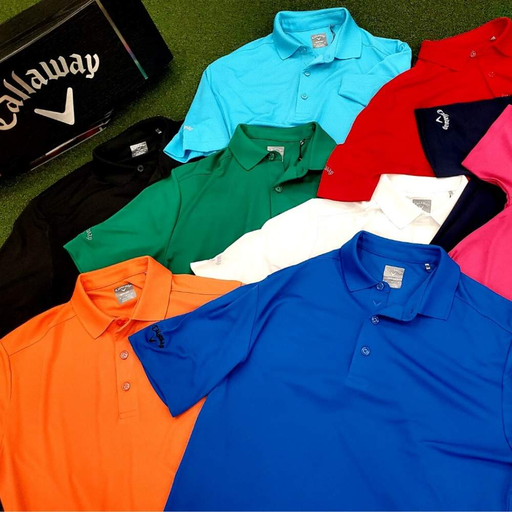Callaway Men's Tournament Solid Polo