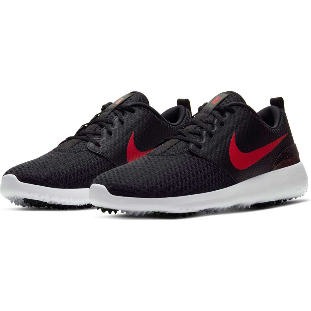 Nike Men's 2020 Roshe G Black/Red Golf Shoe