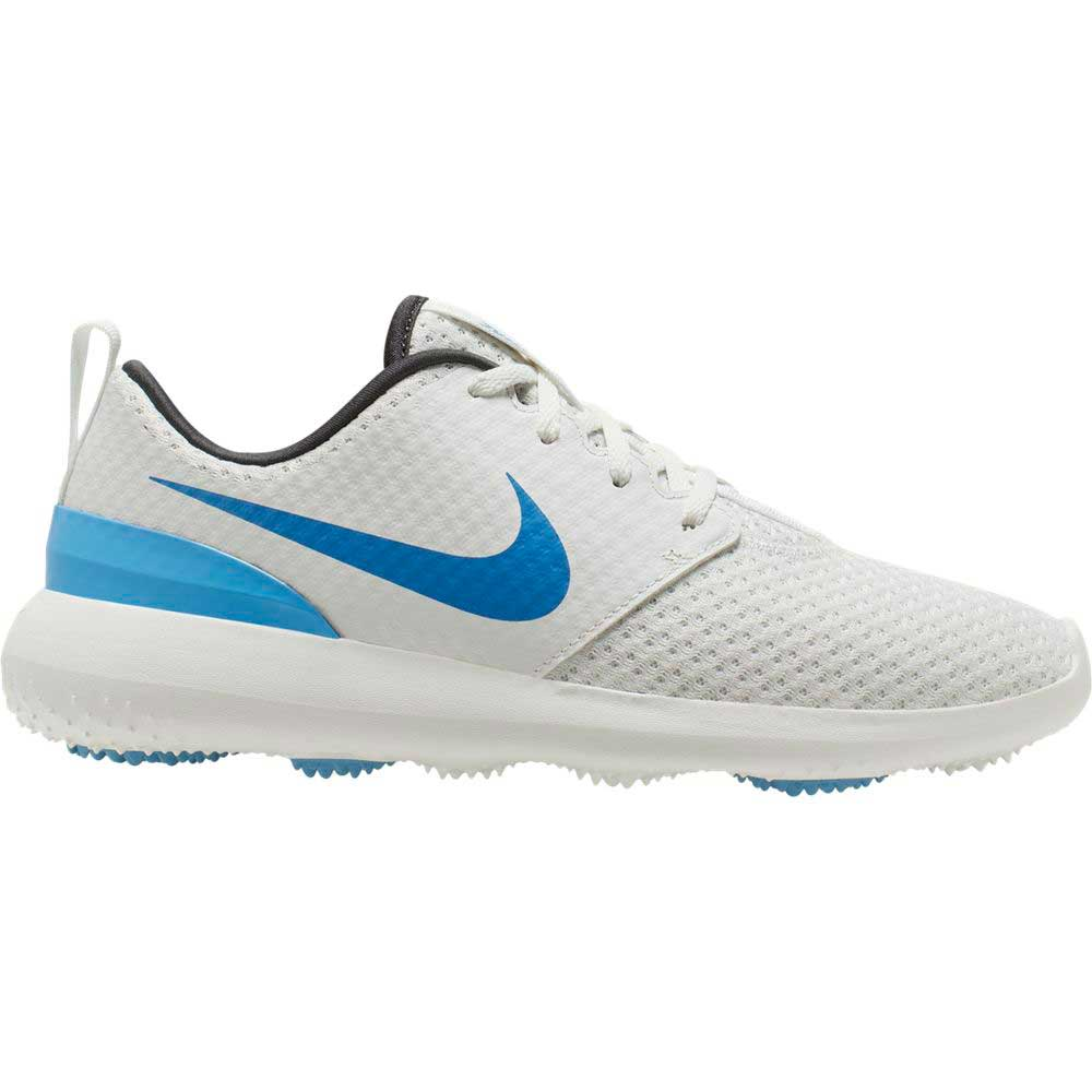 Nike Men's 2020 Roshe G White/Blue Golf Shoe