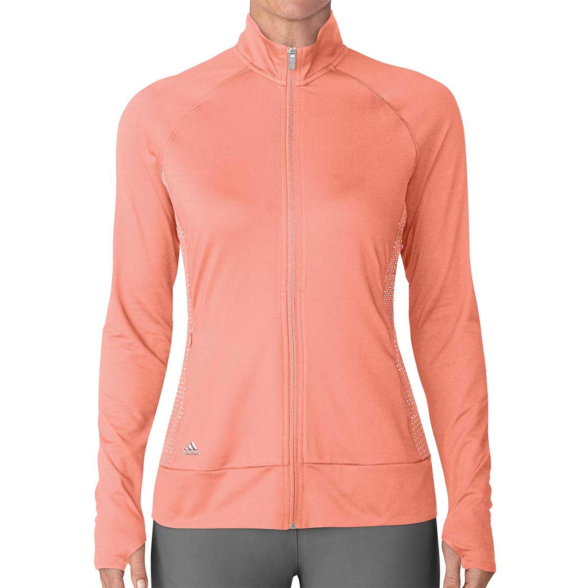 Adidas Women's Rangewear Full Zip Jacket - Coral