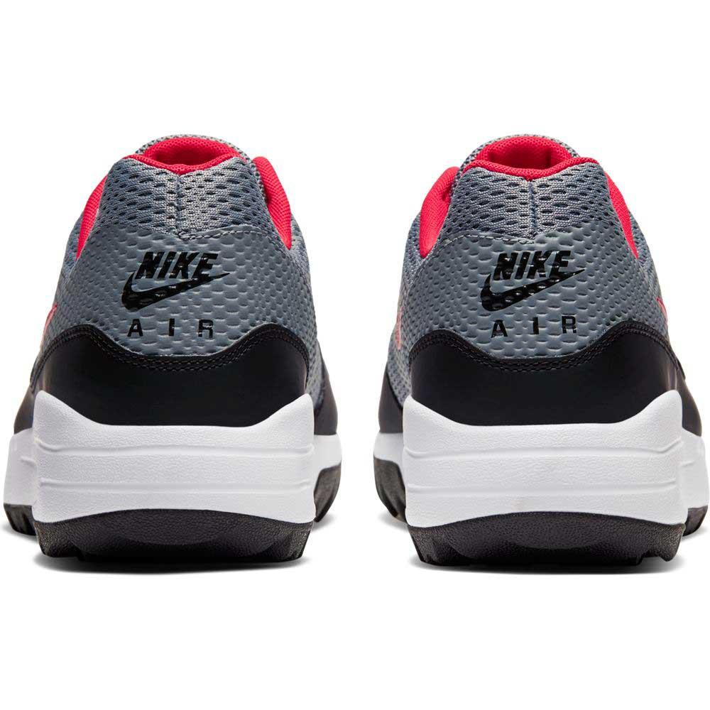 Alegaciones Canoa Acostumbrarse a  Nike Men's 2020 Air Max 1 G Grey/Red/Black Golf Shoe