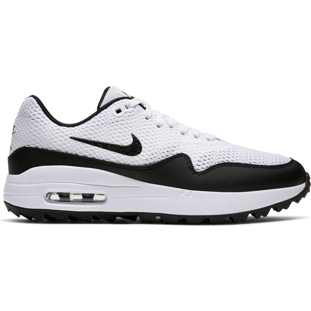 Nike Women's 2020 Air Max 1 G White Golf Shoe