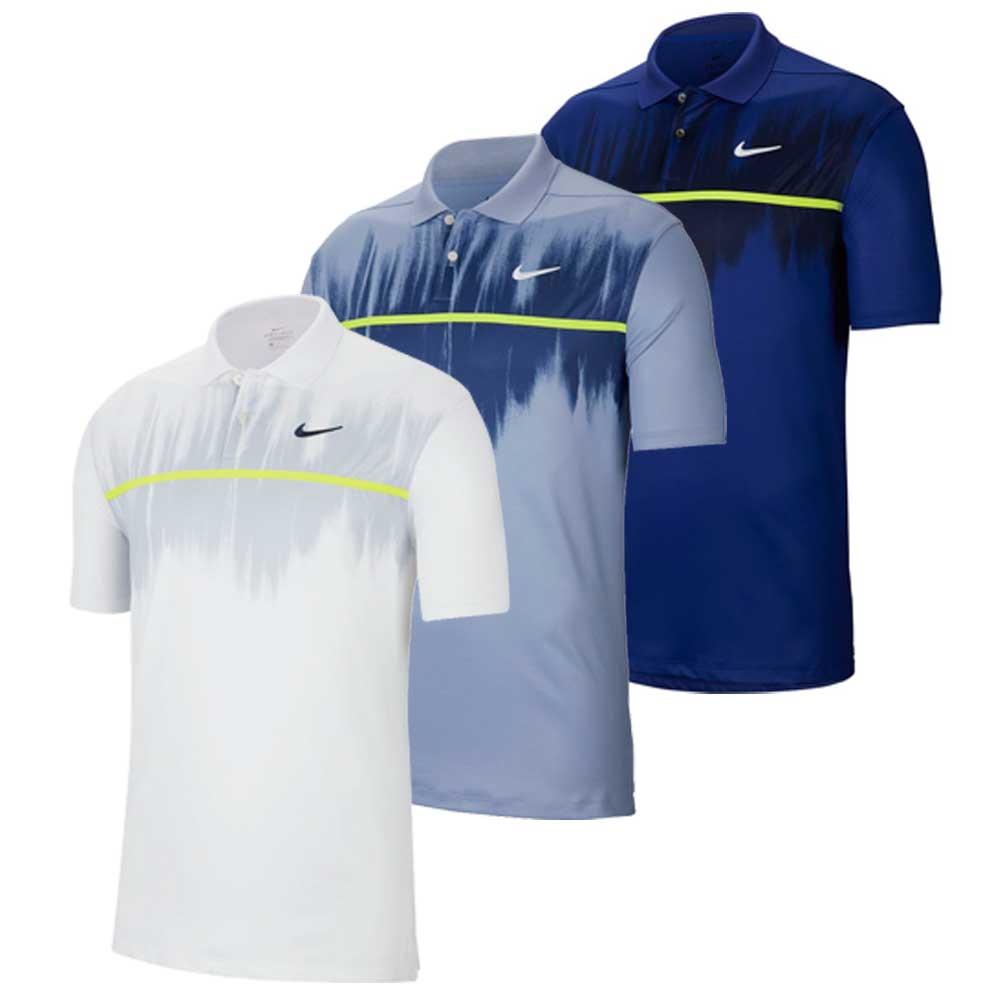 Nike Men's 2020 Dri-Fit Vapor Fog Print Polo