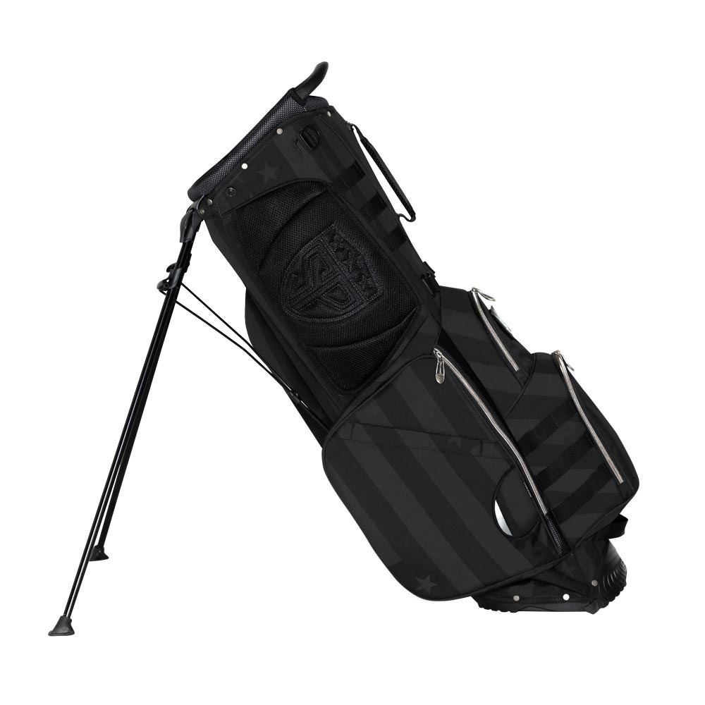 Subtle Patriot Covert Black Stand Bag