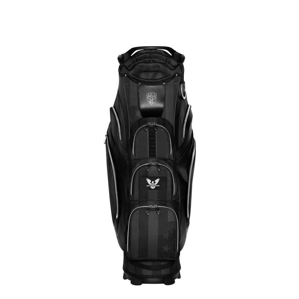Subtle Patriot Covert Black Cart Bag