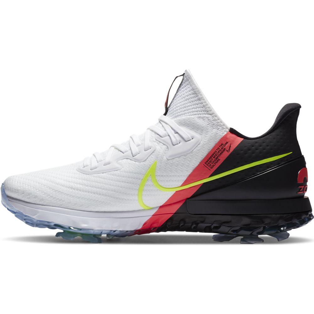 Nike Men's Infinity Tour Black/Crimson Golf Shoe