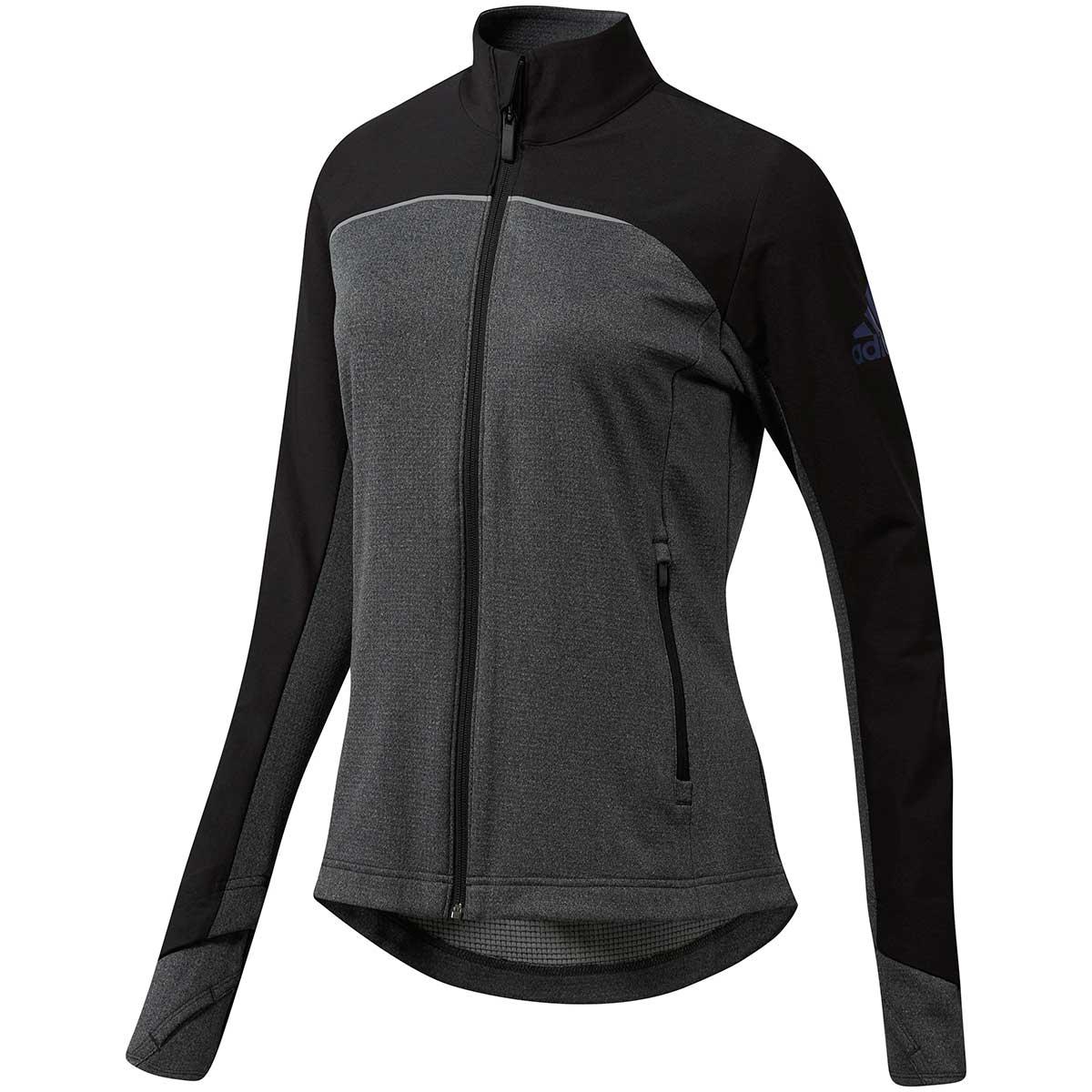Adidas Women's Go-To Adapt Full Zip Jacket - Black