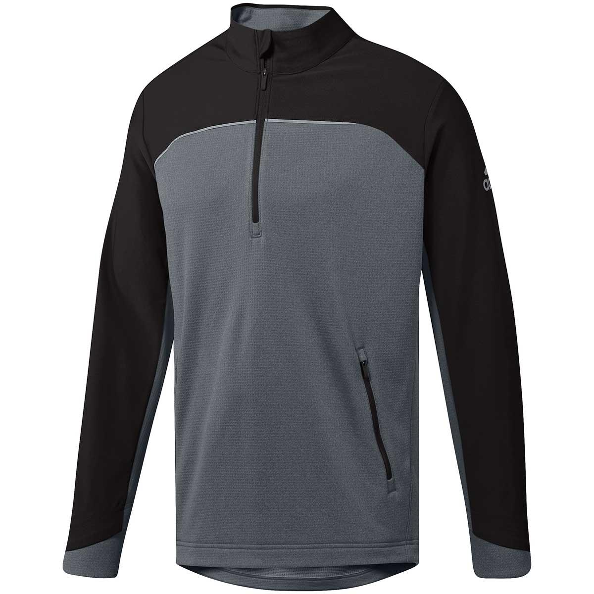 Adidas Go-To Adapt 1/4 Zip Pullover - Black