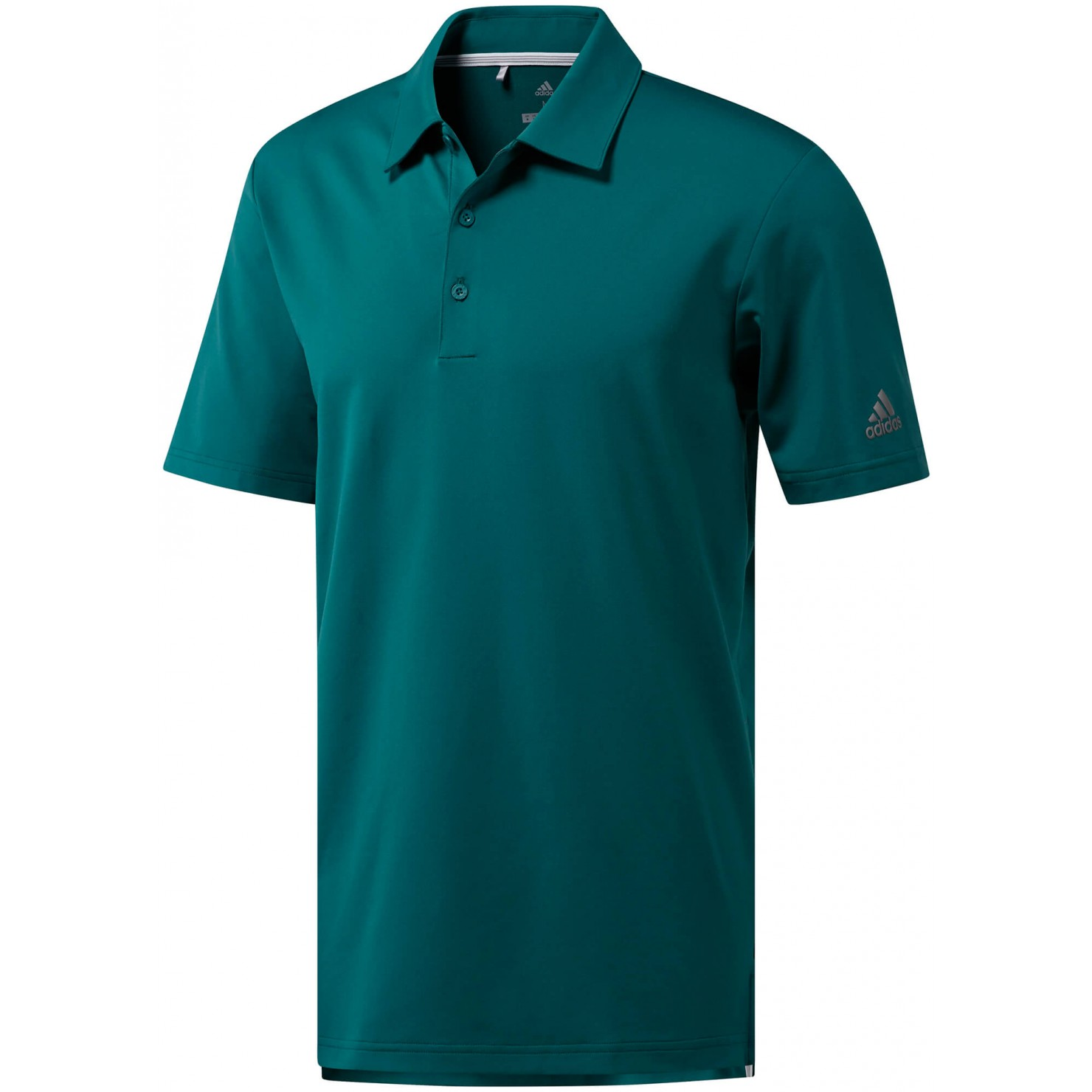 Adidas Men's Ultimate 365 Noble Green Solid Golf Polo