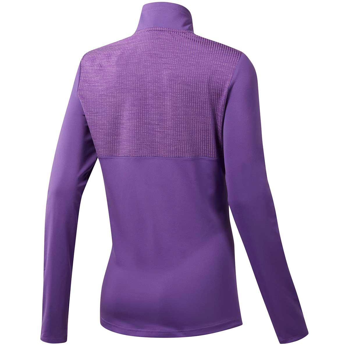 Adidas Women's Sport Layering 1/2 Zip Jacket - Active Purple