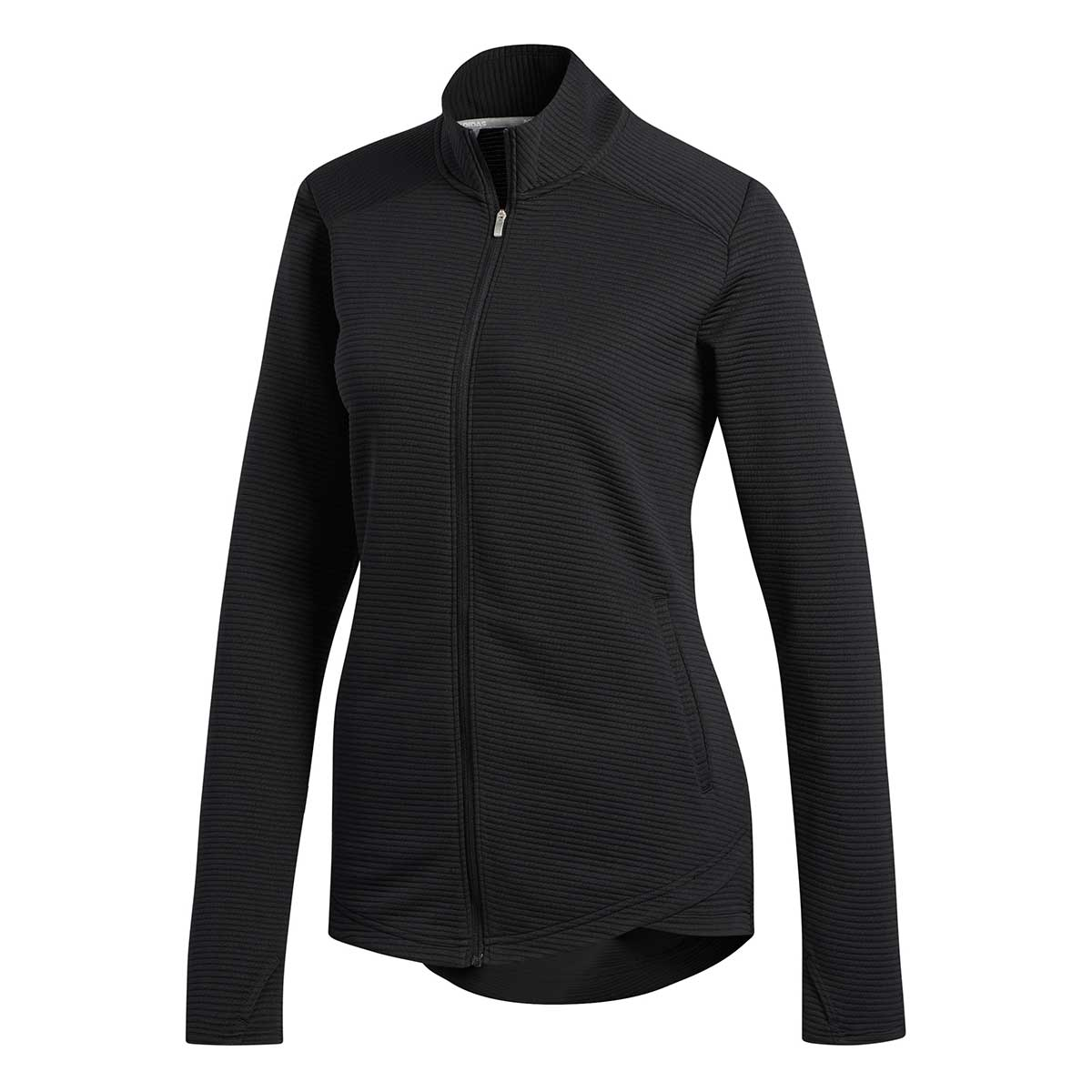 Adidas Women's Essentials Full Zip Black Jacket