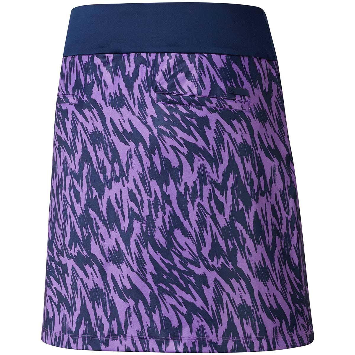 Adidas Women's Ultimate Printed Active Purple Sport Skort