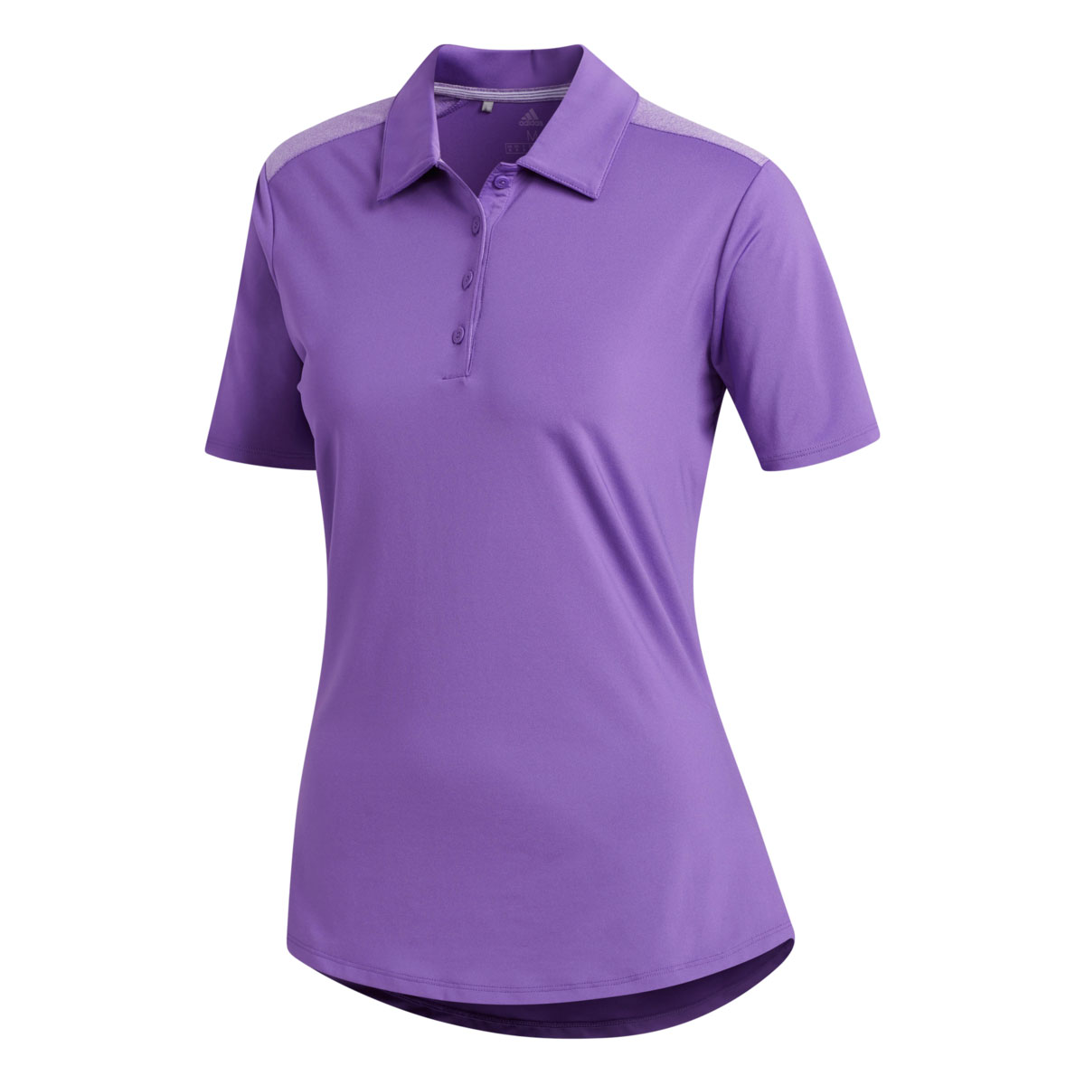 Adidas Women's Ultimate Heathered Purple Polo