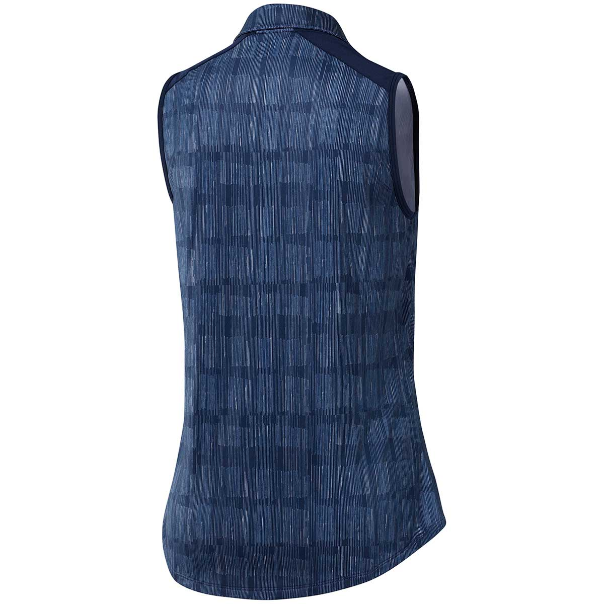 Adidas Women's Ultimate365 Sleeveless Polo Shirt - Night Indigo