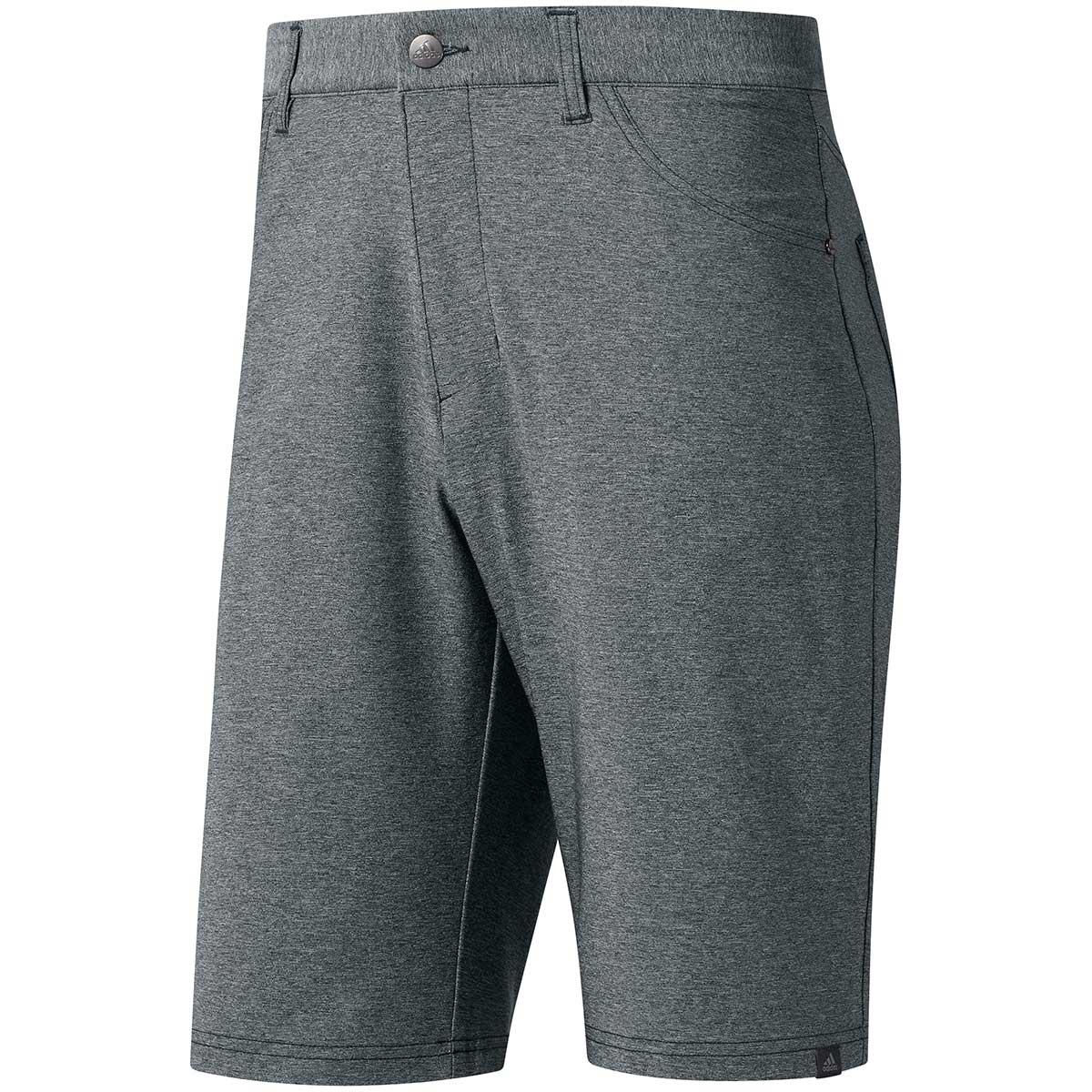Adidas Ultimate365 Heather Five-Pocket Shorts - Grey Three