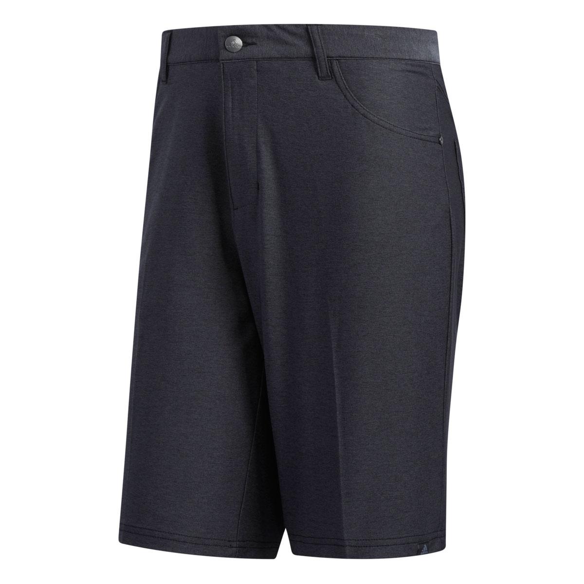 Adidas Ultimate Heather 5 Pocket Black Short