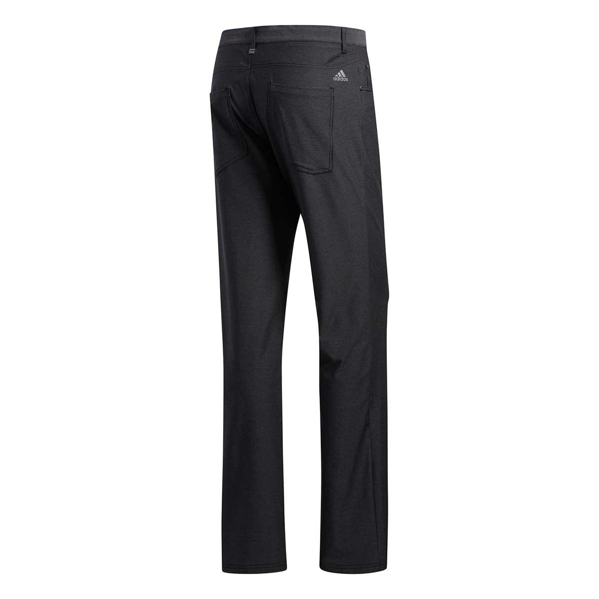 Adidas Men's Ultimate365 Five-Pocket Black Heather Pants