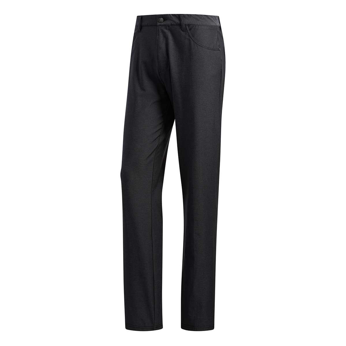 Adidas Men's Ultimate365 Heathered Five-Pocket Black Heather Pants