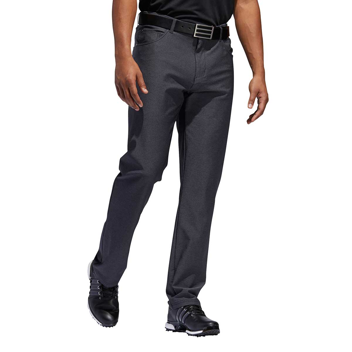Adidas Men's Ultimate365 Heathered Five-Pocket Black Heather Pants