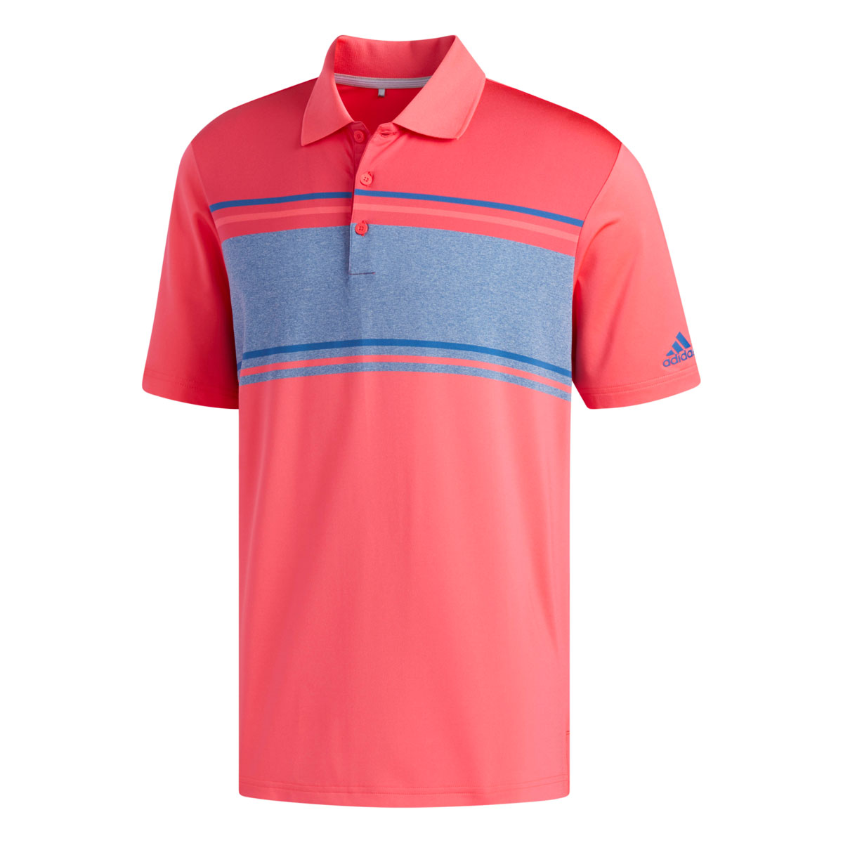 Adidas Ultimate 2.0 Classic Merch Stripe Red/Pink/Marine Polo