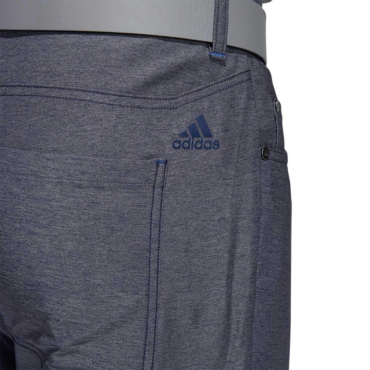Adidas Ultimate365 Heathered Five-Pocket Collegiate Navy Pants