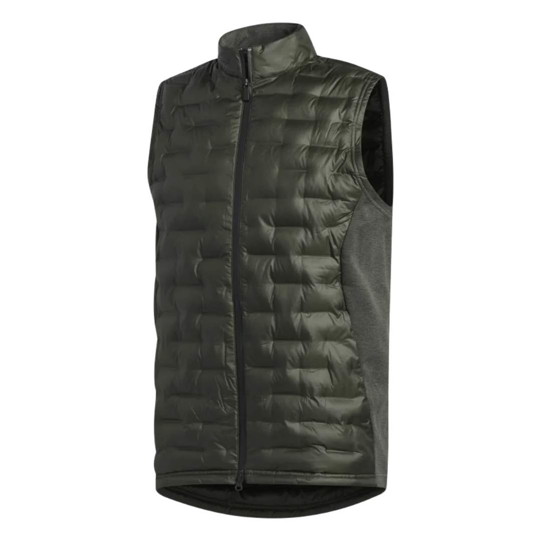 Adidas Men's Frostguard Insulated Collegiate Legend Earth Vest