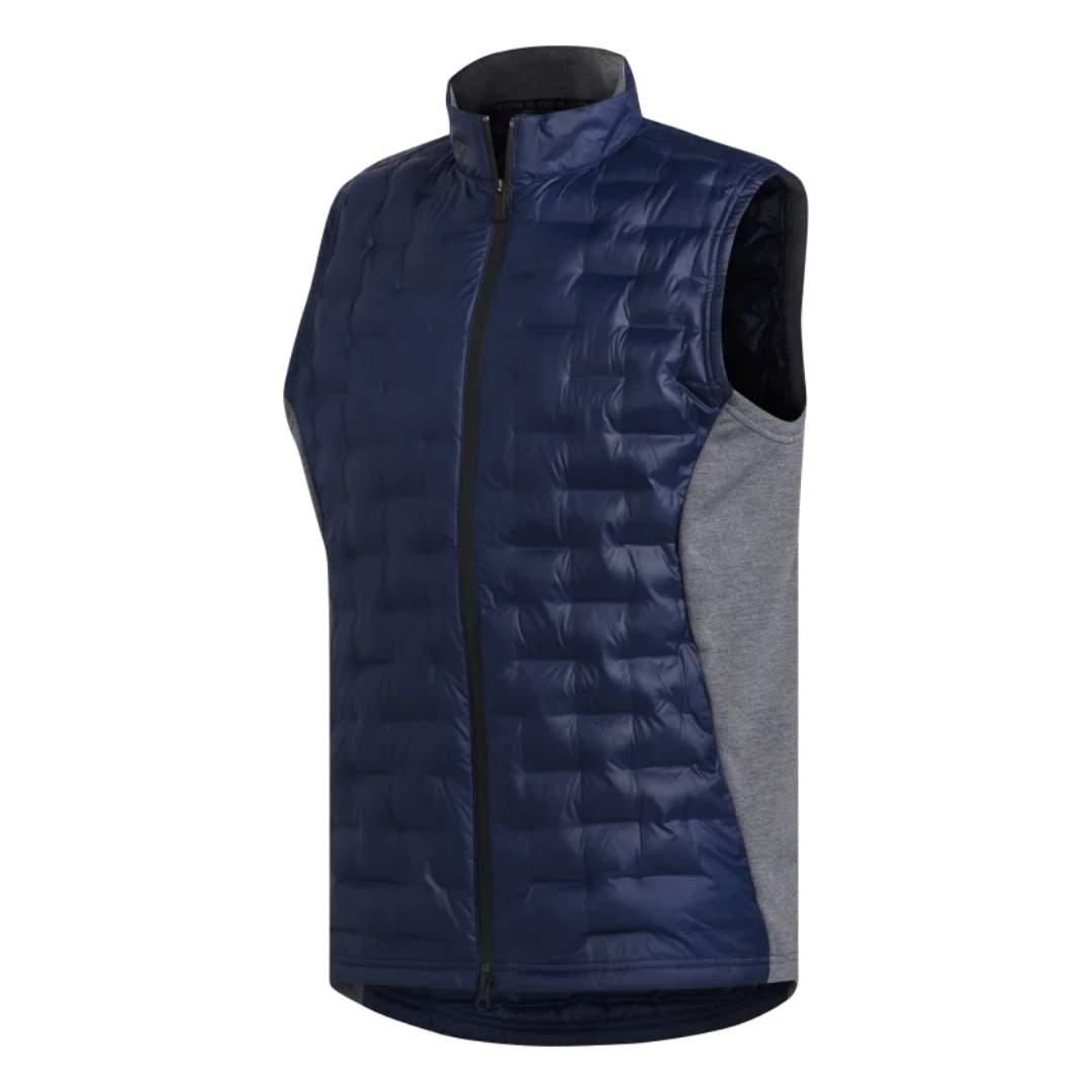 Adidas Men's Frostguard Insulated Collegiate Navy Vest