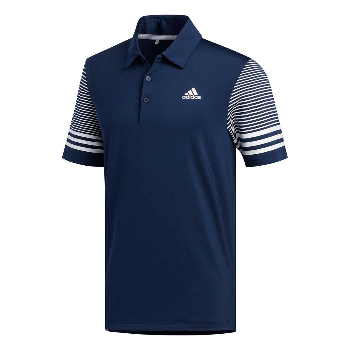 Adidas Men's Ultimate365 Gradient Collegiate Navy Polo
