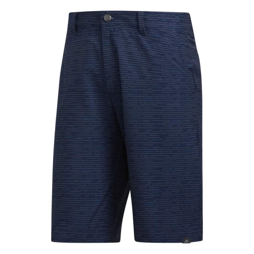 Adidas Men's Ultimate365 Dash Print Collegiate Navy Shorts