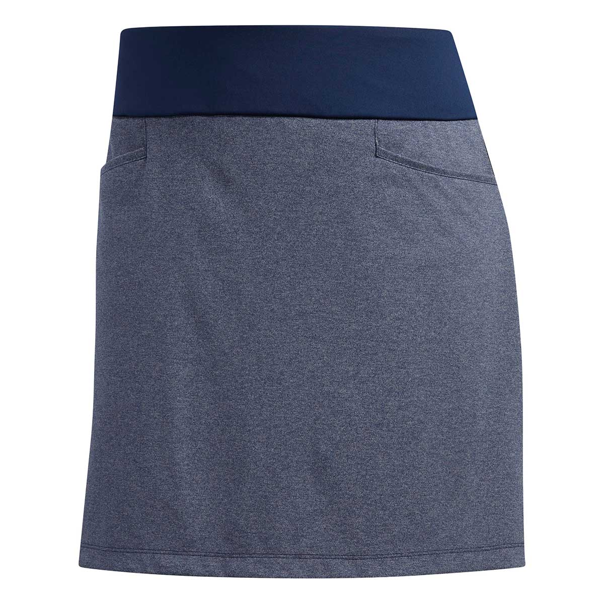 Adidas Women's Heather Indigo Golf Skort