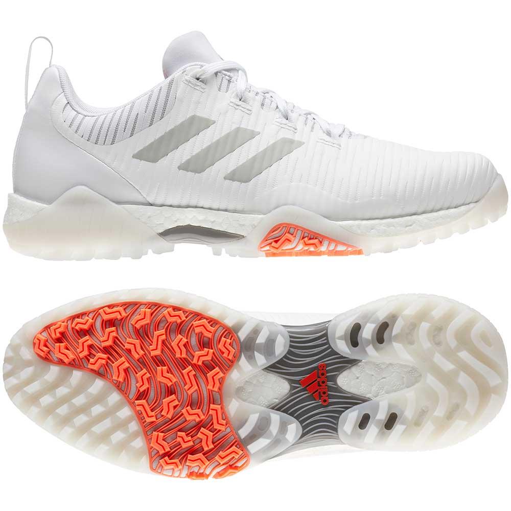 Adidas Men's CodeChaos White/Grey Golf Shoes