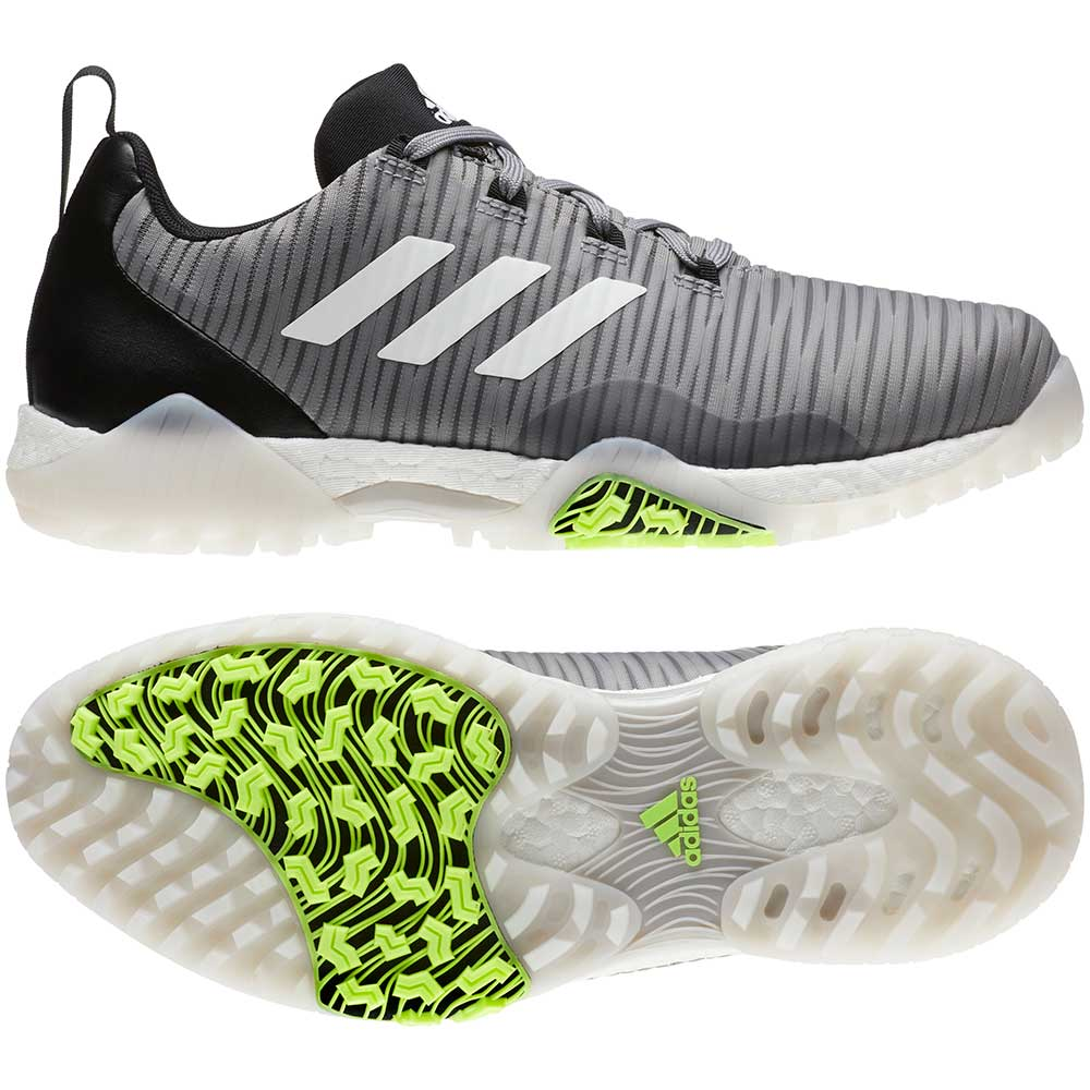 Adidas Men's CodeChaos Grey Golf Shoes