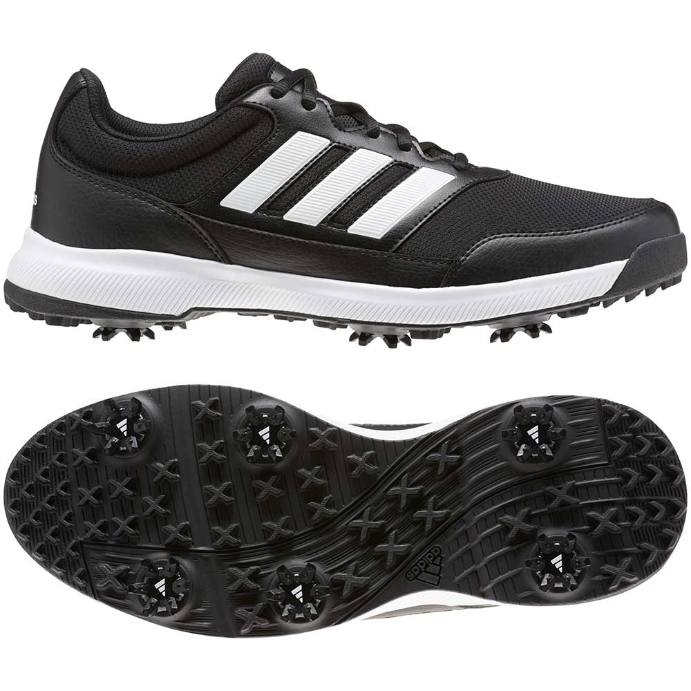 Adidas Men's Tech Response 2.0 Core Black Golf Shoes