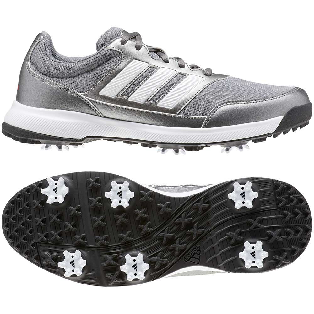 Adidas Men's Tech Reponse 2.0 Iron Metal Golf Shoes
