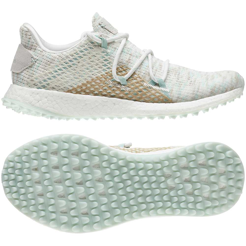 Adidas Women's Crossknit DPR Chalk White Golf Shoes