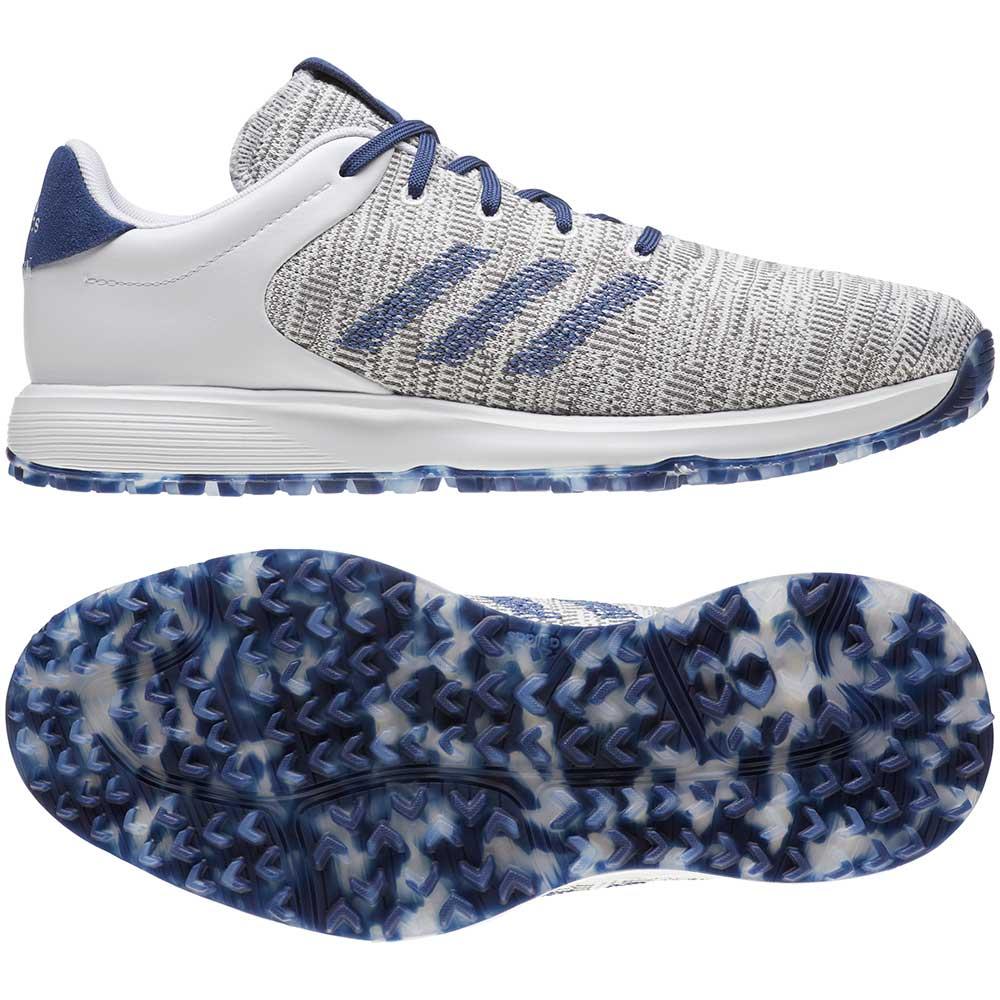 Adidas Men's S2G White/Grey Golf Shoes