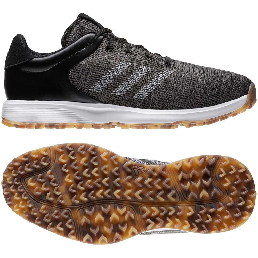 Adidas Men's S2G Black/Grey Golf Shoes